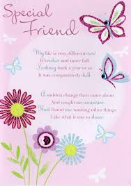 thank you special friend greeting card cards kates