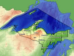 Map Of Holland Michigan by National Weather Service Marquette Office Info