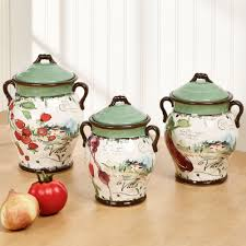 ceramic kitchen canister set kitchen canisters and canister sets touch of class