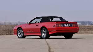 1987 chevrolet camaro z28 1987 chevrolet camaro z28 convertible f271 indy 2014