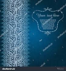 Invitation Card Background Design Winter Time Decoration Invitation Card On Stock Vector 152905118