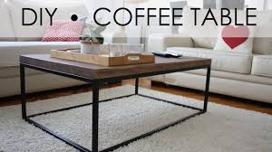 Diy Coffee Tables by Diy Coffee Table Easy U0026 Simple Youtube