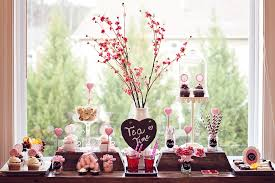 valentines party decorations pink and gray valentines day party decorating tips