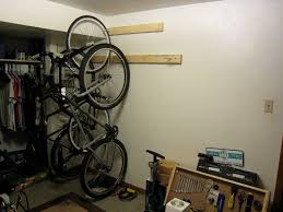 bike rack bike storage for the home or apartment 8 steps with