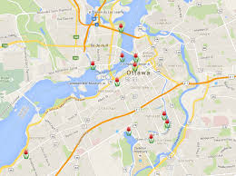 tulip festival map canadian tulip festival festival map 2016