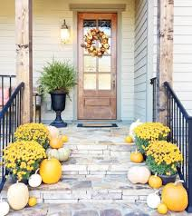 fall front porch inspiration the southern style guide