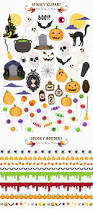 spooky clip art new spooky halloween graphics bundle by design bundles