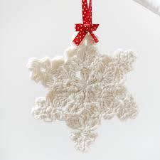 crochet snowflake decoration beautiful crochet christmas tree