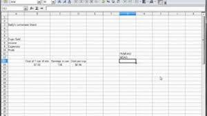 tutorial excel libreoffice 3 libreoffice calc openoffice calc excel tutorial formatting t