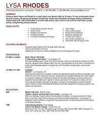 salon manager resume cosy gym manager resume sample on amazing