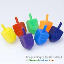buy dreidel 25 medium multicolor plastic dreidels