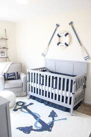 Baby Decor For Nursery Wow The Rug In This Nautical Theme Nursery Nautical Theme