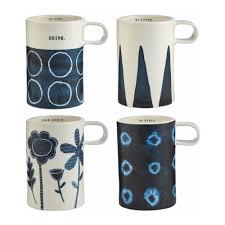 rae dunn tall indigo mugs s 4