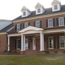 a timeless tradition red brick house with pine hall brick u0027s old
