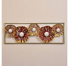 buy earthy wine wall decor frame home by nilkamal maroon