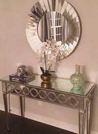 Entrance Tables And Mirrors Our Mirrored Console Table Makes This Entryway Wendy818