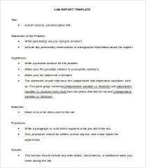 lab report template word 20 lab write up template images 3 lab report format pdf