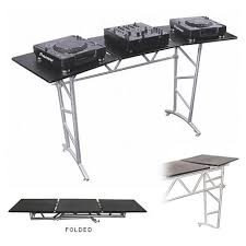 table rentals nyc rent dj equipment dj truss table rental pro audio visual
