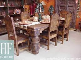 Gothic Masterpiece Table Quilty Rustic Furniture Farmhouse - Gothic dining room table