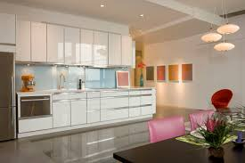 Modern White Kitchen Backsplash White Kitchens With White Granite Countertops Luxury Home Design