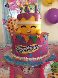 what a cute shopkins cake for yazlin thank you to arianna