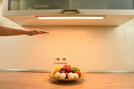 kitchen led under cabinet lighting neptune motion controlled led under cabinet light lamps of all