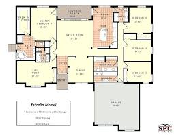 sle floor plans 2 story home 5 bedroom house plans best of modular homes floor plans and pictures