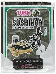 Best Sheet Brands On Amazon Amazon Com Hime Seaweed Sushi Nori 10 Sheets Net Wt 1 Ounce