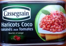 tomates cuisin s haricots coco cuisinés aux tomates laurier et sauge cassegrain 435 g