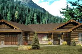 2 Craftsman Style Log Cabin Homes Double Wide Log Mobile Home Log