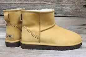 s ugg australia mini deco boots ugg australia mens mini deco wheat sheepskin ankle boots