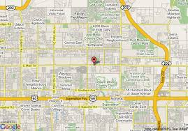 mesa az map map of days inn east mesa mesa