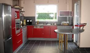 d co cuisine deco cuisine et gris pour d co moderne mod le carat lapeyre
