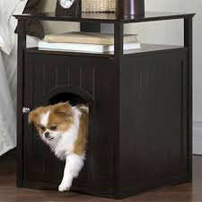merry products cat washroom litter box cover and night stand pet