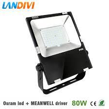 Outdoor Led Flood Lighting - aliexpress com buy outdoor led flood light 80w osram led chip