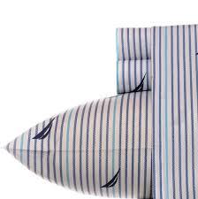 Percale Sheet Set Nautica 200 Thread Count Cotton Percale Sheet Set U0026 Reviews Wayfair