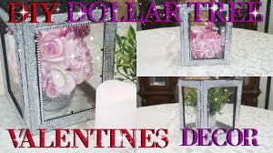 diy dollar tree valentines day glitter lantern decor 2017