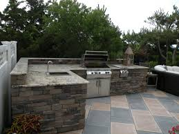 Outdoor Cabinets 101 Fireside Outdoor Kitchens by Elegant Metal Framing For Outdoor Kitchen Taste