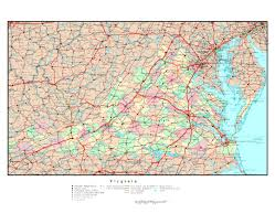 Map Of West Va Maps Of Virginia State Collection Of Detailed Maps Of Virginia