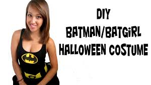 Batman Robin Halloween Costumes Girls Batman Batwomen Costume Fast Easy Simple Diy