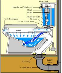 Bathtub Drain Mechanism Diagram How A Toilet Works U0026 Toilet Plumbing Diagrams Toilet