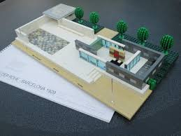 Mies Van Der Rohe Floor Plan by Lego Ideas Mies Van Der Rohe Pavilion Barcelona