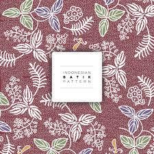 indonesian pattern indonesian salak batik pattern free vector vector premium download