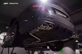 nissan 350z quad tip exhaust mb042 qs20m armytrix stainless steel valvetronic catback exhaust