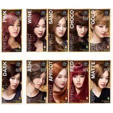 fashion hair color red gray ash blonde black brown orange pink