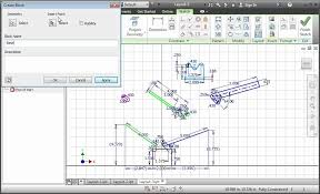 autodesk inventor 2013 sketch blocks youtube