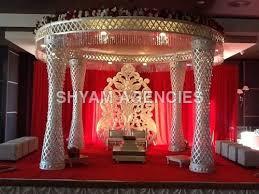 wedding mandaps swarovski wedding mandap manufacturer exporter from india