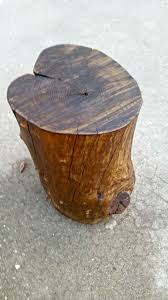 Wood Stump Coffee Table Tree Stump Side Table My Own Home