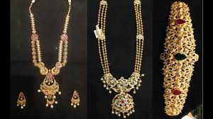 gold jewellery designs wedding collection