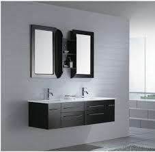 Modern Black Bathroom Vanity Majestic Black Modern Bathroom Vanity Design With Home Design Ideas